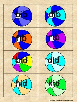 CVC Short i Beach Balls Card Game