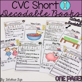 CVC Short i Decodable Books
