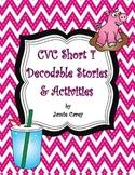 CVC Short 'i' Decodable Stories & Activities