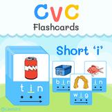 CVC Short i - Printable Flashcards   Learn & Practice CVC words