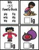 CVC Short i Word Family and Phonemic Awareness Interactive Books