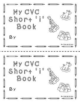 """CVC Short """"i"""" book"""