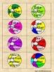 CVC Short o Beach Balls Card Game