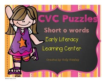 CVC Short o Puzzle