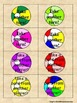 CVC Short u Beach Balls Card Game