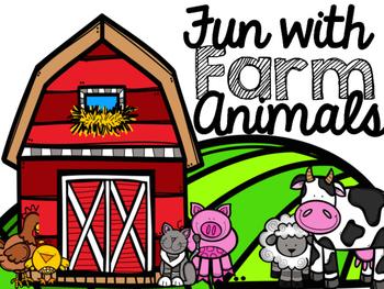 CVC & Sight Word Review - Farm Animals
