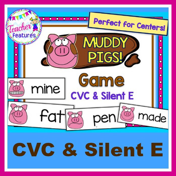 CVC & Silent E: Muddy Pigs Game