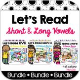 Short & Long Vowels Board Game Bundle