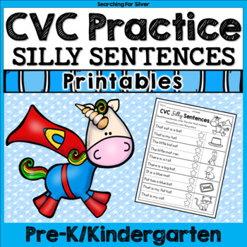 CVC Silly Sentences No-Prep