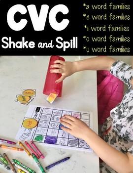 CVC Shake & Spill!