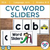 CVC Slide Cards for Phoneme Segmentation