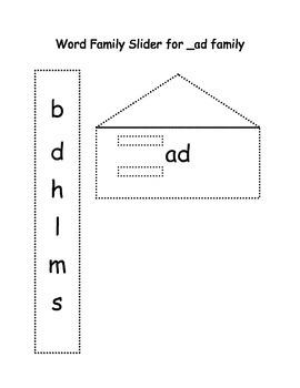CVC Slide for the _ad family
