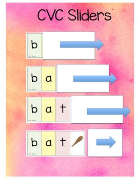 CVC Sliders (Color and B&W)