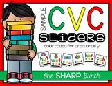 CVC Word Sliders FREEBIE {Phoneme Segmentation}