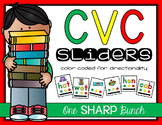 CVC Word Sliders {Phoneme Segmentation}
