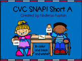CVC Snap! Short A Card Game
