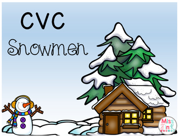 CVC Snowmen!