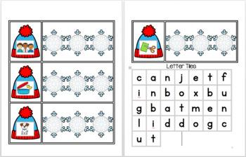 CVC Snowy Day - Spelling CVC Words
