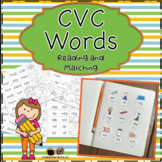Short Vowel Word Sorts Literacy Centers CVC Words Phonics