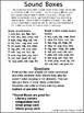 CVC Sound Box/Phoneme Segmentation *FREE*