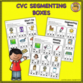 Sound Boxes- Short Vowels CVC