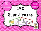 CVC Sound Boxes - 50 Task Cards!