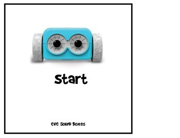 CVC Sound Boxes With Botley the Coding Robot