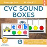 CVC Sound Boxes for Phoneme Segmentation and Phonemic Awareness