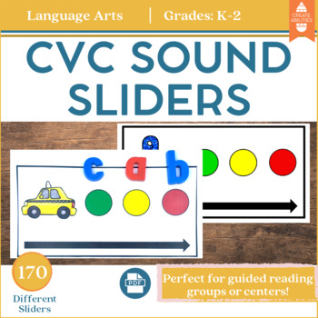 CVC Sound Sliders for Phoneme Segmentation and Phonemic Awareness