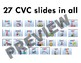 """CVC """"Sound it Out"""" PowerPoint BUNDLE + PDFs of all slides included"""