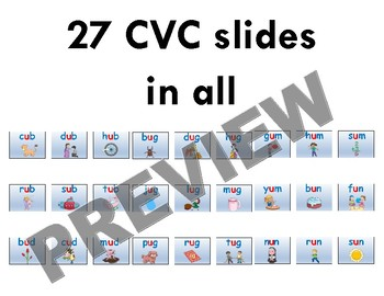 "CVC ""Sound it Out"" PowerPoint: short u + PDF of all slides included"