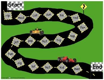 CVC Speedway Board Game