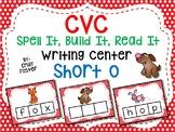 CVC Writing Cards - SHORT O