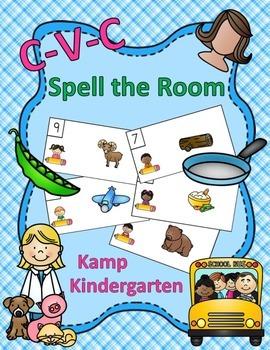 CVC Spell the Room
