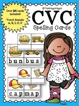 CVC Word Cards (BUNDLE)