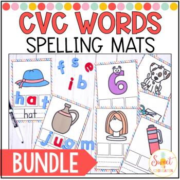 CVC Spelling Cards BUNDLE
