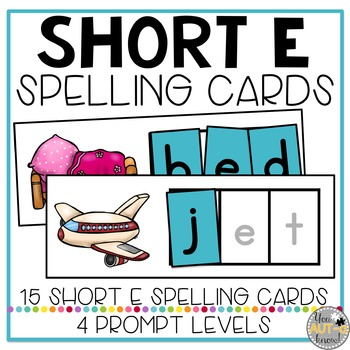 CVC Spelling Cards: Short E