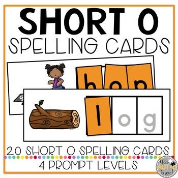 CVC Spelling Cards: Short O