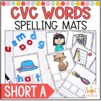 CVC Spelling Cards- Short a