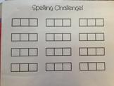 CVC Spelling Challenge