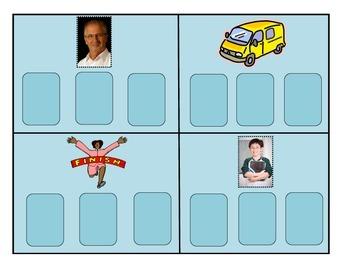 CVC Spelling Pattern Cards