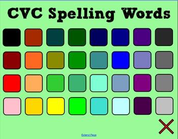 CVC Spelling - SMART Notebook