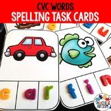 CVC Activities: Spelling Task Cards