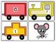 CVC Spelling Trains Word Work