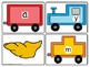 CVC Spelling Trains Word Work