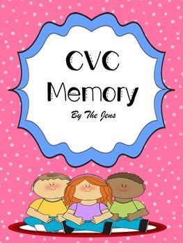 CVC Memory K-2 (***BONUS CVC Bingo***)