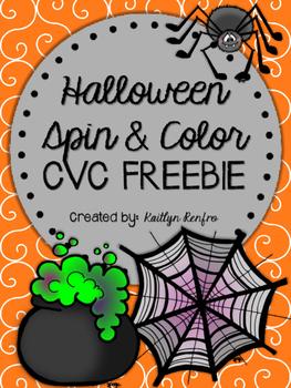 CVC Spin & Color FREEBIE