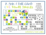 CVC Spin and Roll Board Game: Vowel Sounds