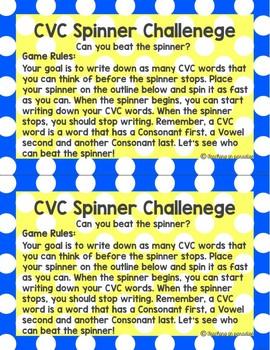 CVC Spinner Challenge