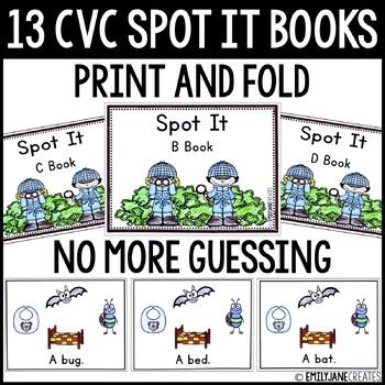 CVC Spot It Books (Print and Fold)